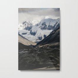 Glacial View South East AK Metal Print