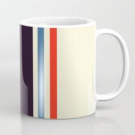 Classic Minimal Racing Car Retro Stripes - Furaribi Coffee Mug