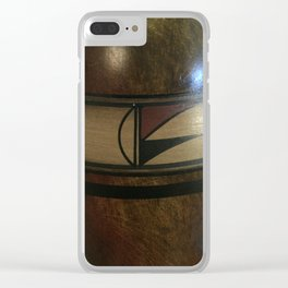 Pottery Design - 7 Clear iPhone Case