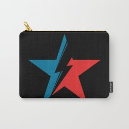 Bowie Star black Carry-All Pouch
