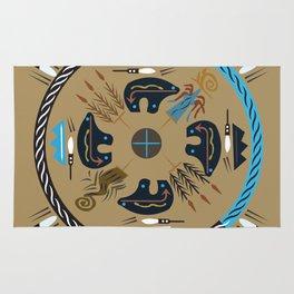 American Native Pattern No. 114 Rug