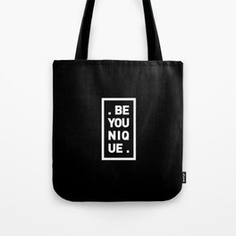 YOU AND YOURSELF (BLK) Tote Bag