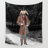 gentleman Wall Tapestries featuring gentleman by Gabriele Omar Lakhal
