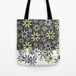 Etched Daisy Tote Bag