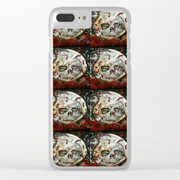 TYME WAITS FOR NONE Clear iPhone Case
