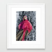 scary Framed Art Prints featuring Scary! by IowaShots