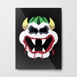 Joke's On You Bowser Metal Print