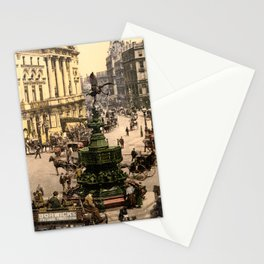 Piccadilly Circus, London, England, 1890 Stationery Cards