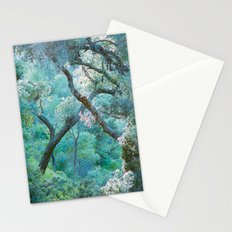 deeper she goes Stationery Cards