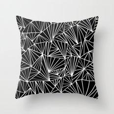 Ab Fan #2 Throw Pillow