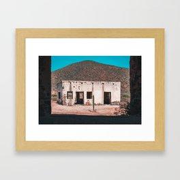 Abandoned building in Baja California Sur Framed Art Print