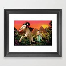 Amy Wildhorse Framed Art Print