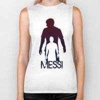 messi Biker Tanks featuring Leonel Messi by Sport_Designs