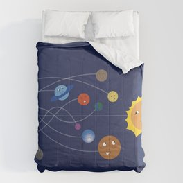 Chasing the Sun Comforters