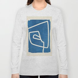 abstract minimal 57 Long Sleeve T-shirt