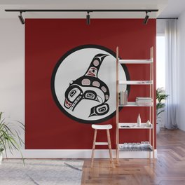 Northwest Pacific coast Haida art Killer whale Wall Mural