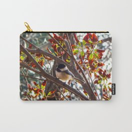 Charming Chickadee Carry-All Pouch