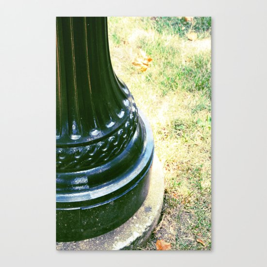 Swirling Lamp Post Canvas Print
