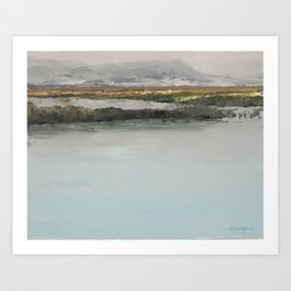 Bear Lake Refuge Art Print