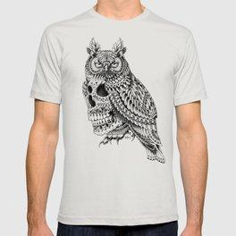 Great Horned Skull T-shirt