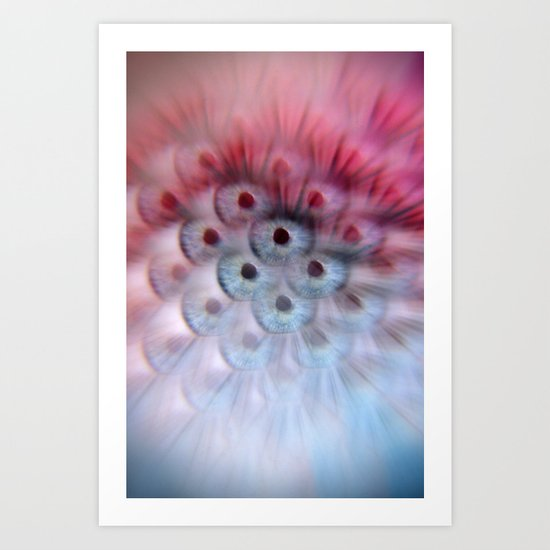 EYE AM Multitudes Art Print
