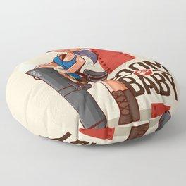 Boom Beach Fan Art - Zooka Floor Pillow