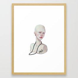 Lunette Framed Art Print