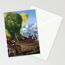 Dosso Dossi Aeneas and Achates on the Libyan Coast Stationery Cards