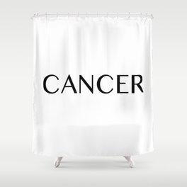 Cancer {Astrology Zodiac Sign} Shower Curtain