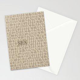 Sex Stationery Cards
