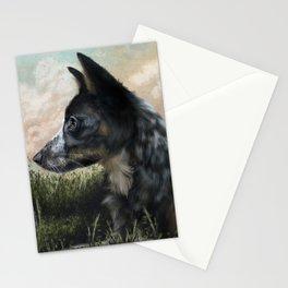 My Blue Stationery Cards