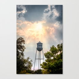 Gruene, Texas - The Watertower Canvas Print