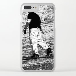 Snowboarding - Winter Sports Clear iPhone Case