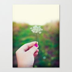 Hold My Flower Canvas Print