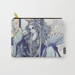 Madame Blue Carry-All Pouch