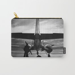 Airplane at sunrise Carry-All Pouch