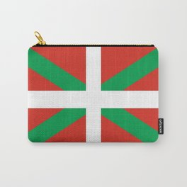 Flag of Euskal Herria-Basque,Pays basque,Vasconia,pais vasco,Bayonne,Dax,Navarre,Bilbao,Pelote,spain Carry-All Pouch