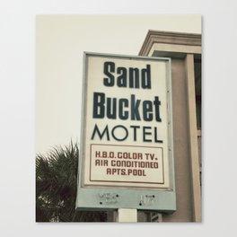 Sand Bucket Canvas Print