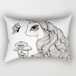 MAGICAL UNICORN, NURSERY, FANTASY ART Rectangular Pillow