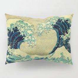 The Great Blue Embrace at Yama Pillow Sham