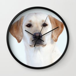 White Beauty | Weisse Schönheit Wall Clock