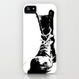 Punk High-Top Shoes iPhone Case
