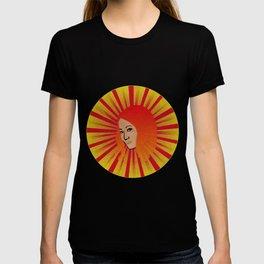 Vintage Asian Woman Portrait T-shirt