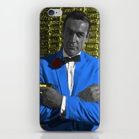 bond iPhone & iPod Skins featuring Bond by POP Prints by FMcLaws