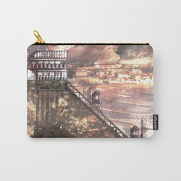 Future Funicular (Steampunk Scarborough Seafront) Carry-All Pouch
