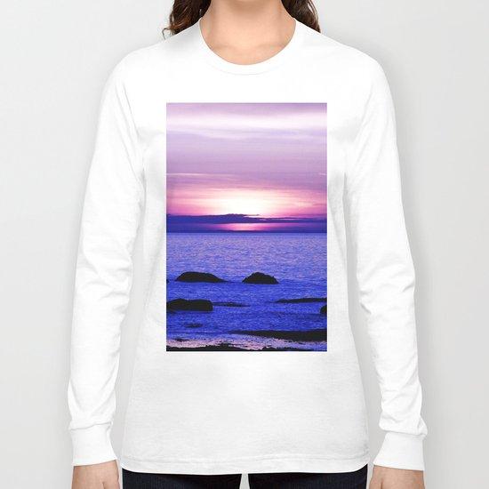 Dusk on the Saint-Lawrence Long Sleeve T-shirt