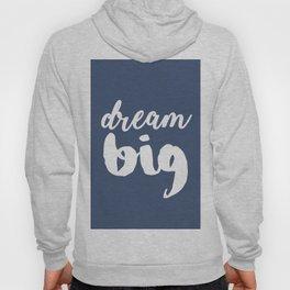 Dream big - Fade Purple Quote Hoody