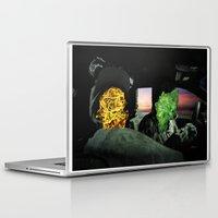 rap Laptop & iPad Skins featuring white girl rap by john muyargas