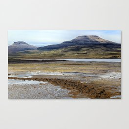 McLeods Tables on the Isle of Skye Canvas Print