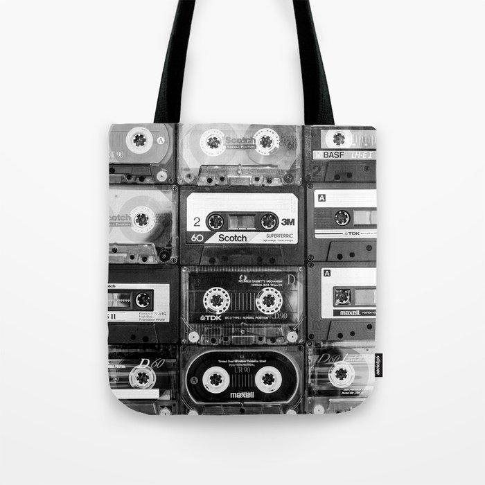 Something Nostalgic - black and white #decor #buyart #society6 Tote Bag